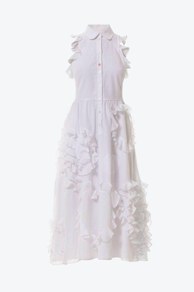 OL10000215 Ruffled hearts batiste A line dress1B