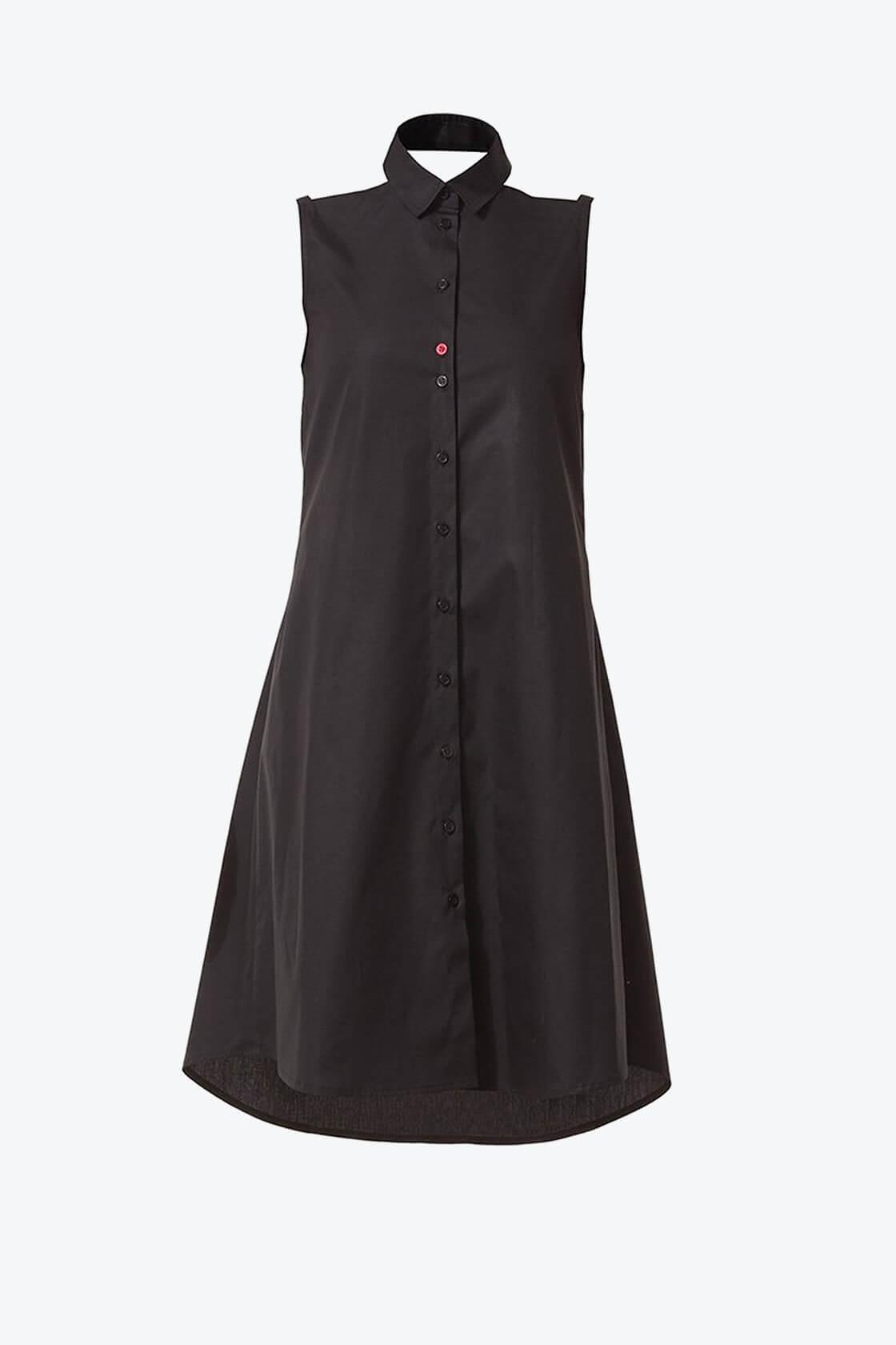Ol10000218 Bare Shoulders Lose Fit Dress With Side Pockets1