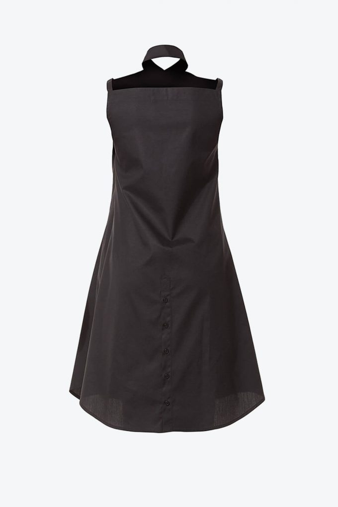 Ol10000218 Bare Shoulders Lose Fit Dress With Side Pockets2
