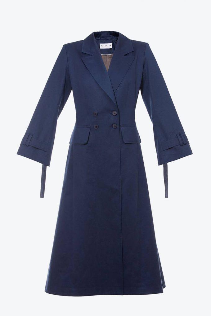 OL10000223 A line coat blue1B