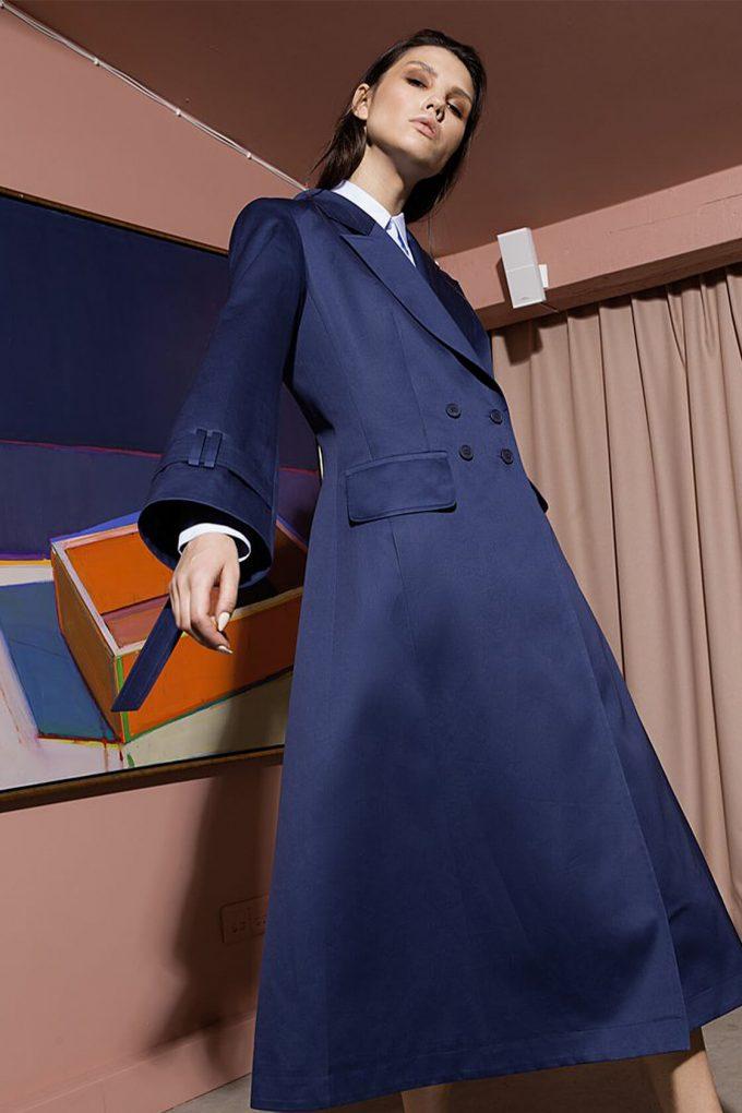 OL10000223 A line coat blue4