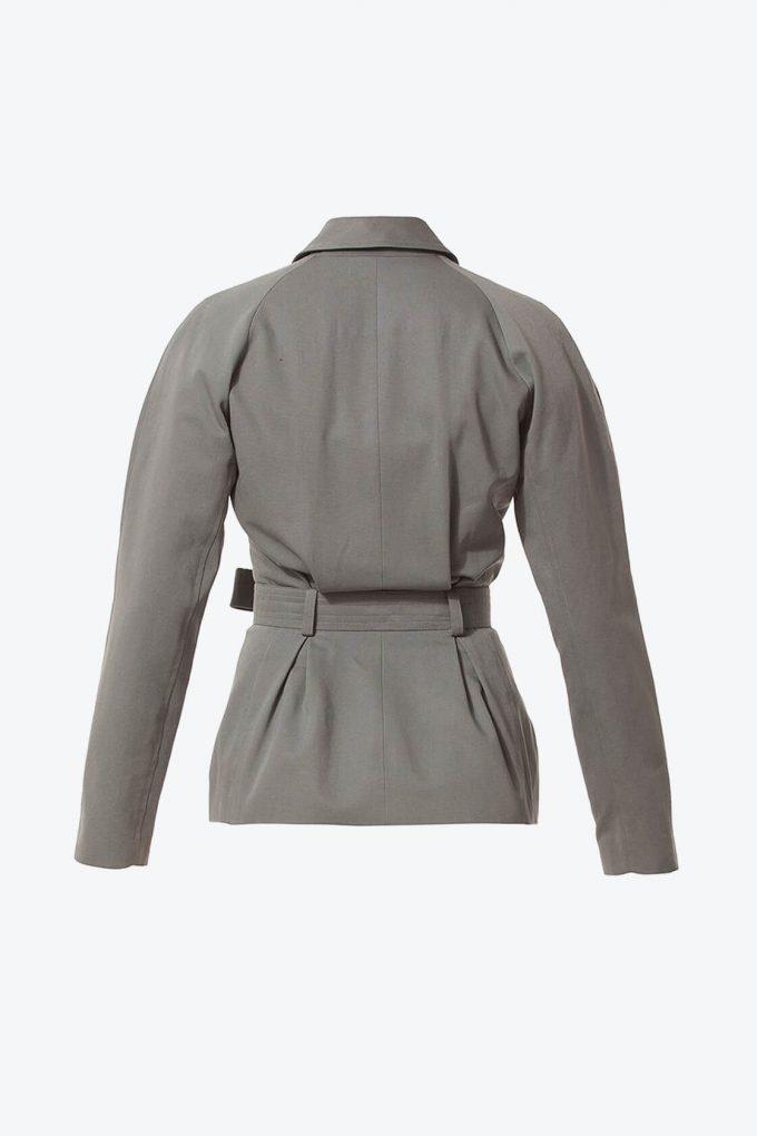 Ol10000229 Blazer With Belt And Side Pockets2