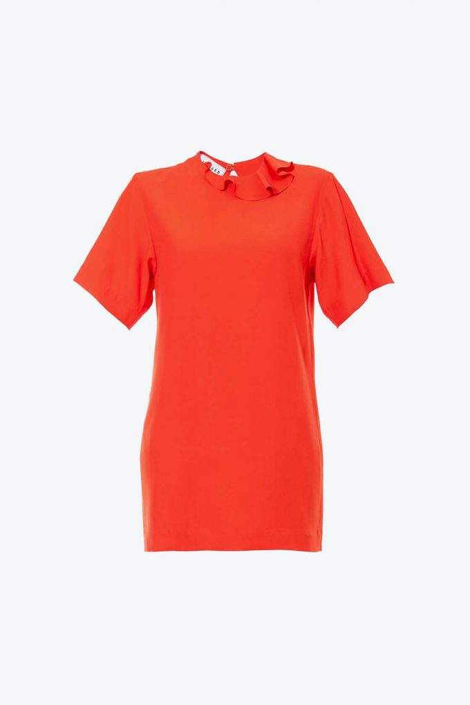 OL10000249 Viscose T tunic red1B
