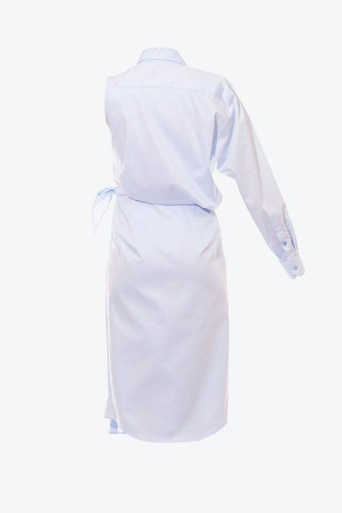 OL10000250 Asymmetric shirt dress2