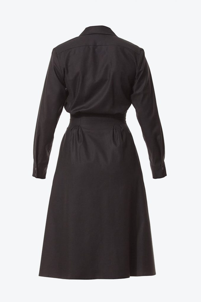 Ol10000252 Relaxed Lapel Dress With Side Pockets2