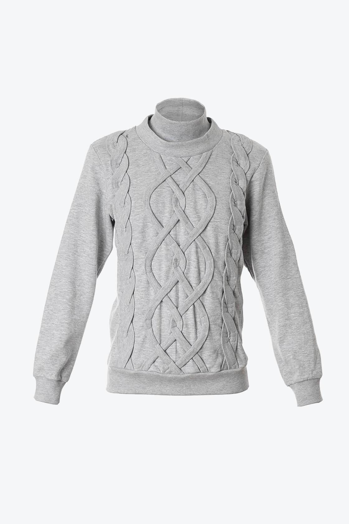 OL10000255 Fake knitwear sweatshirt1