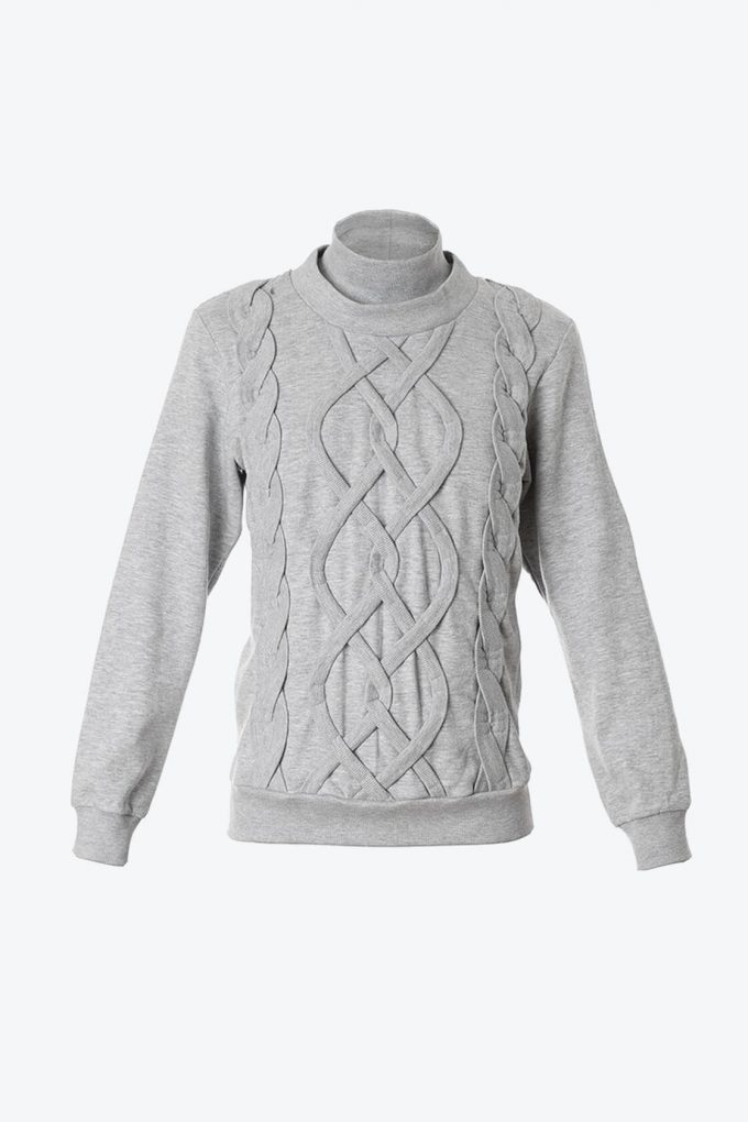 OL10000255 Fake knitwear sweatshirt1B