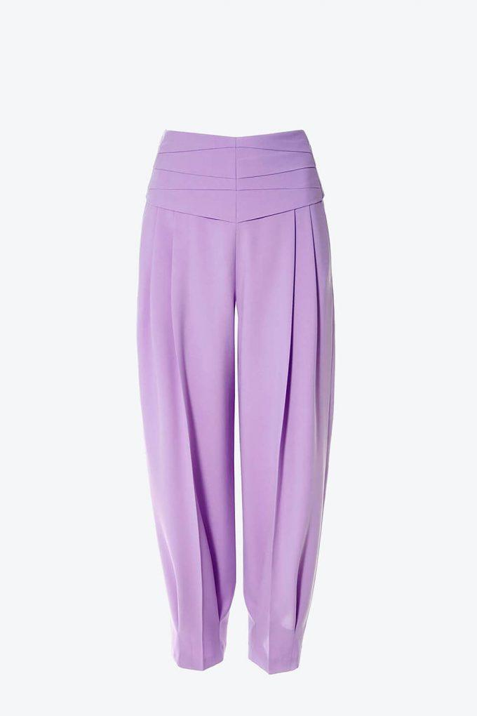 OL100002576 Trousers Bianca Viola1B