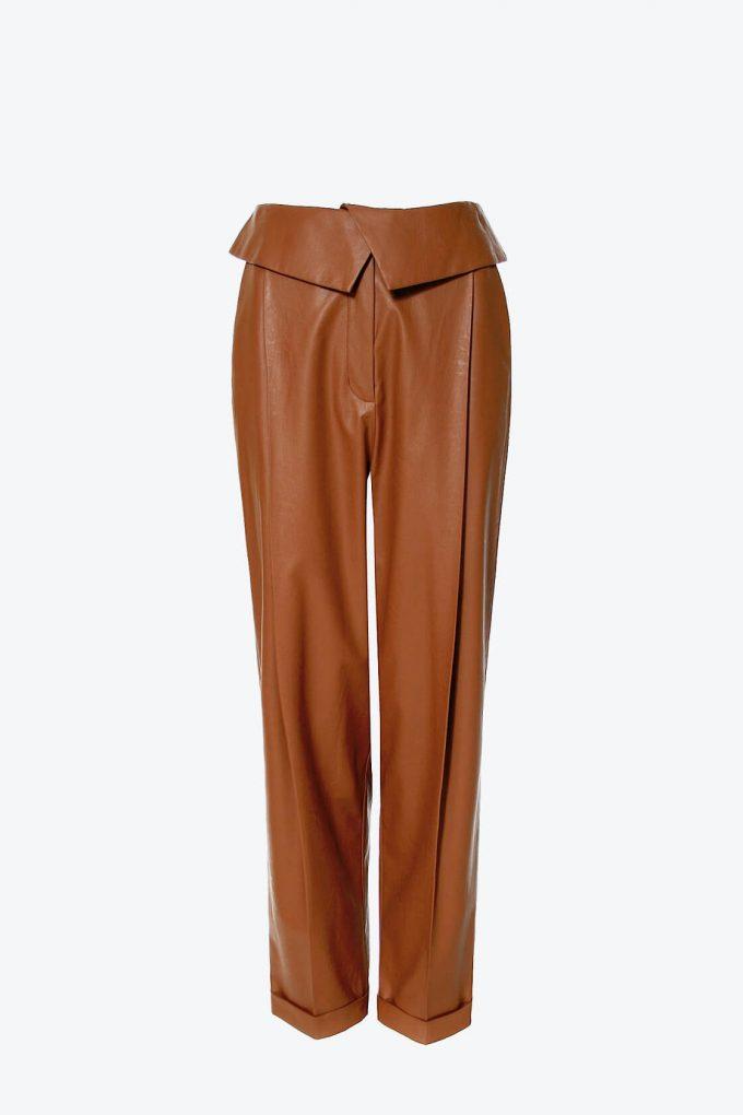 OL100002598 Pants Xenia Raw Umber1 1