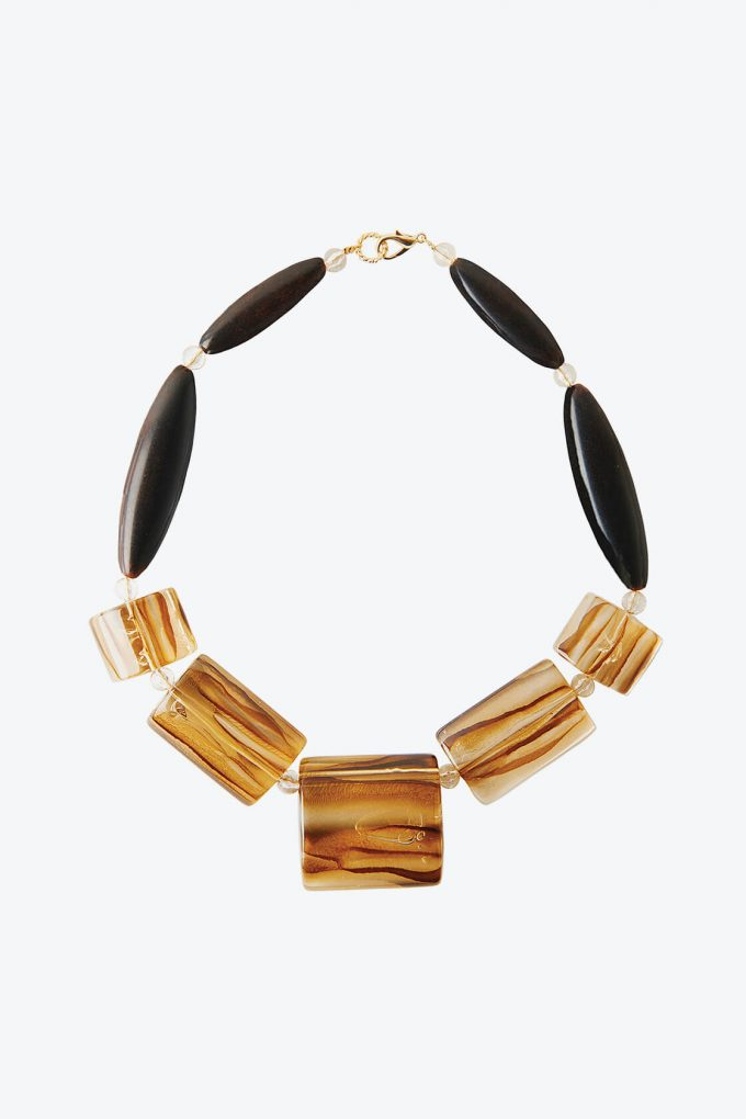 OL50000105 Hand Lacquered Statement Necklace1B