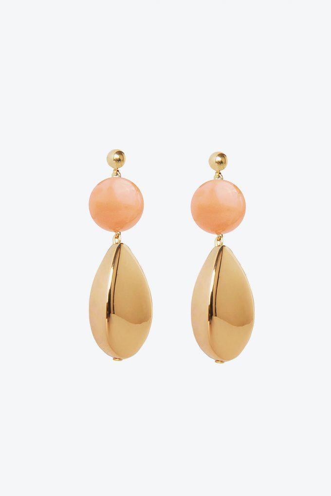 OL50000112 Pink Gold Artemisia Earrings1B