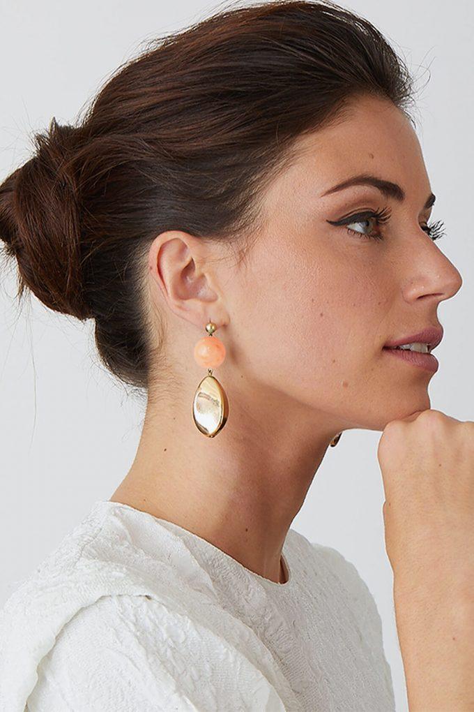 OL50000112 Pink Gold Artemisia Earrings2