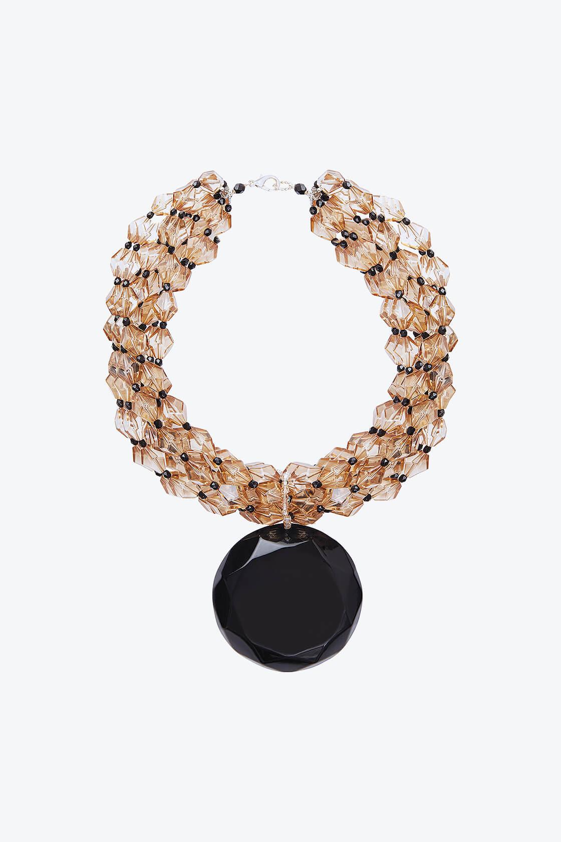 OL50000123 Italian Crystal Statement Necklace1