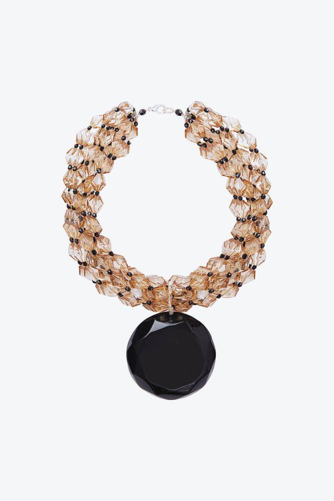 OL50000123 Italian Crystal Statement Necklace1B