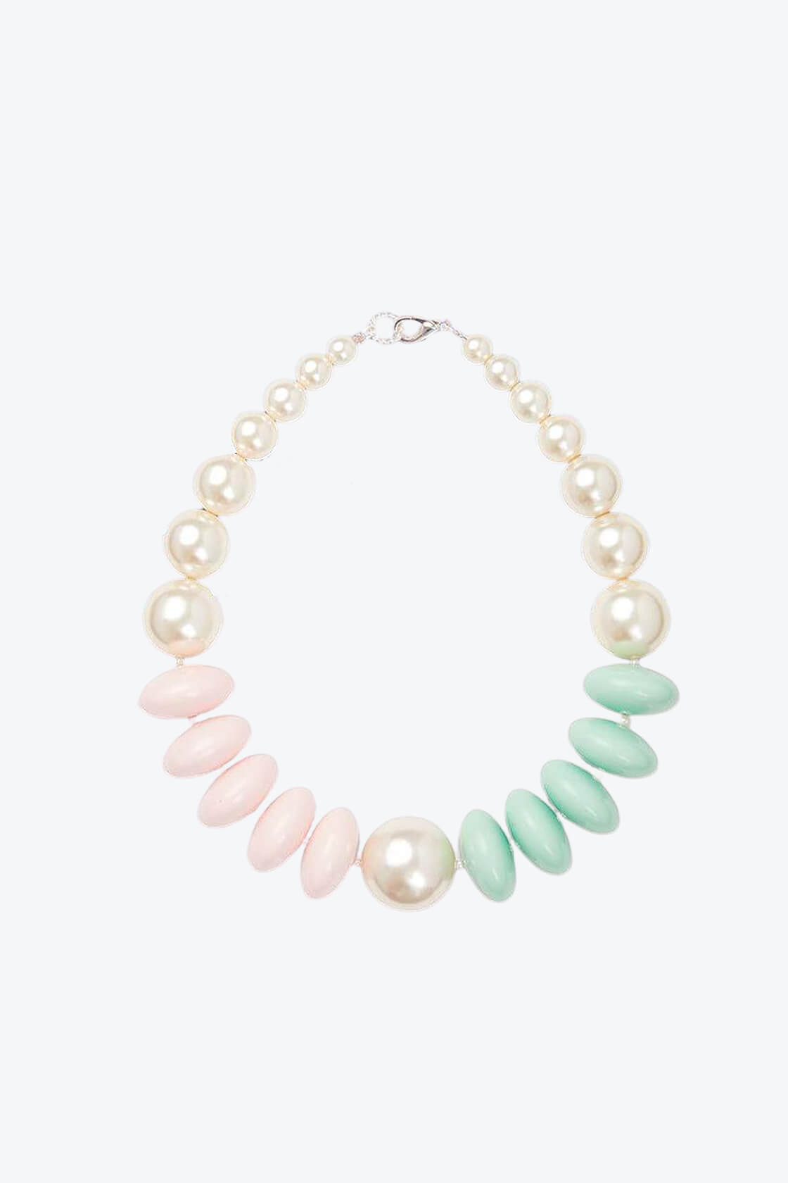 OL50000124 Pearl Pastel Statement Necklace1