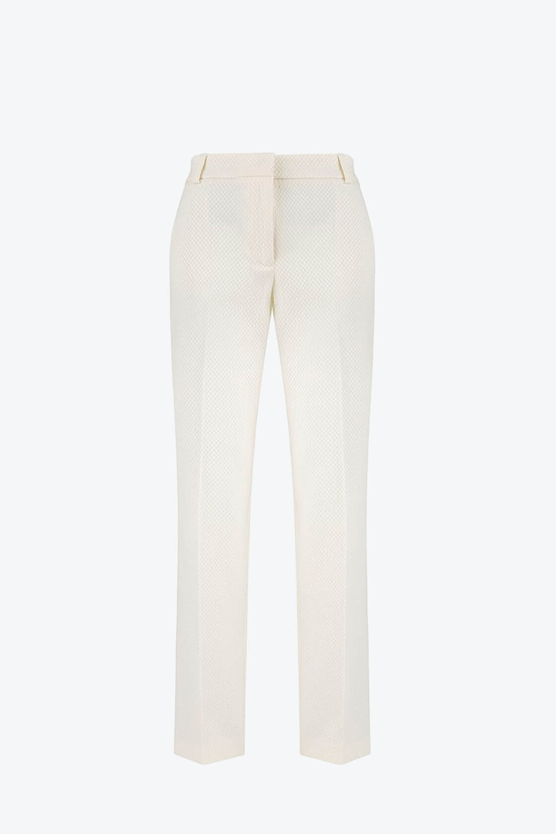 OL100002640 Dana Slim Fit Pleated Pants White1