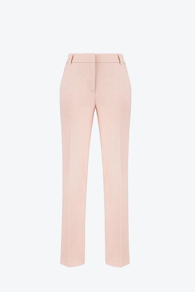 OL100002641 Dana Slim Fit Pleated Pants Rosewater1B