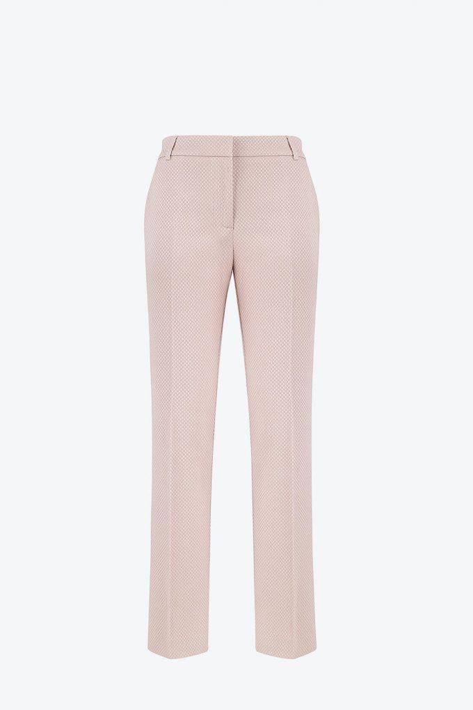 OL100002642 Dana Slim Fit Pleated Pants Taupe1B