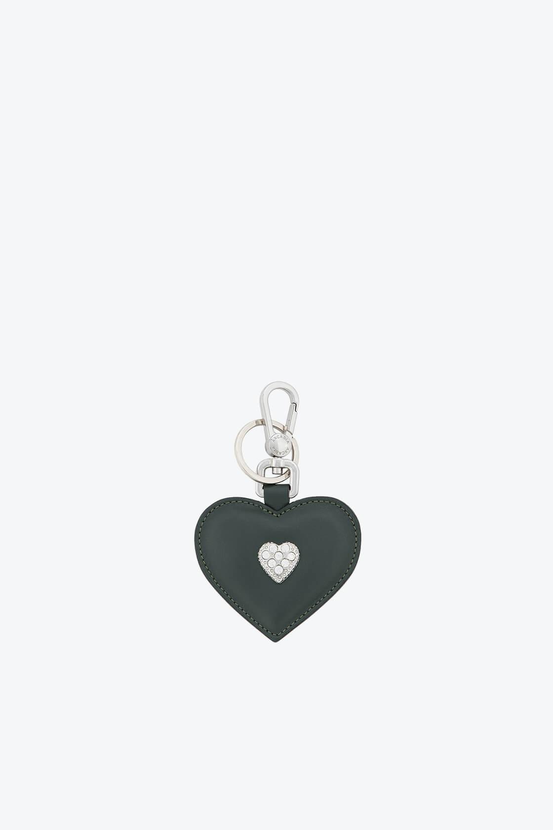 ol80000168 keyring heart swarovski stones 1