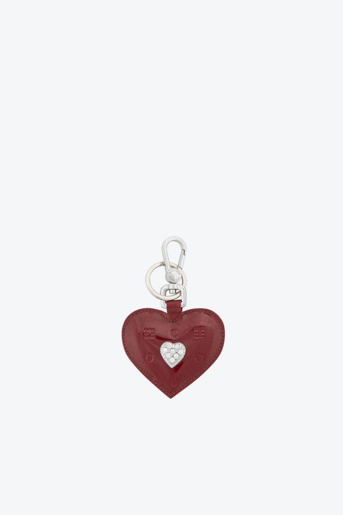 ol80000334 keyring heart swarovski stones 1b