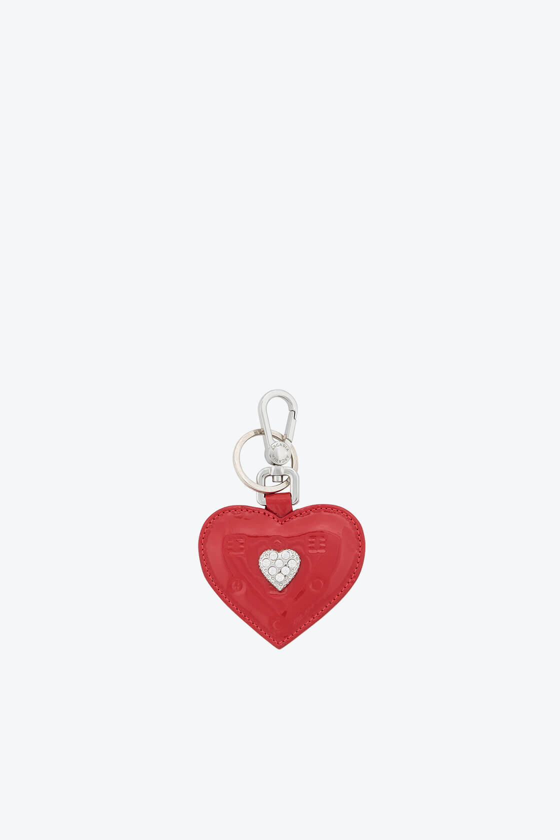 ol80000335 keyring heart swarovski stones 1