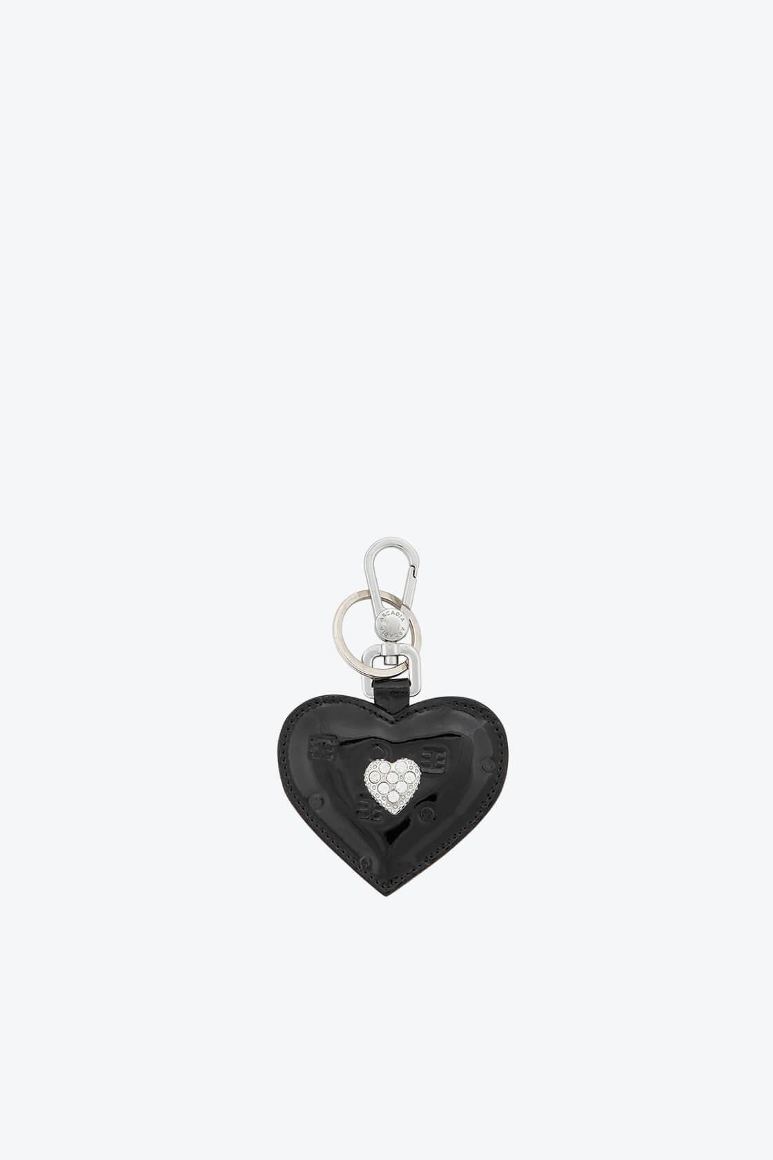 ol80000338 keyring heart swarovski stones 1