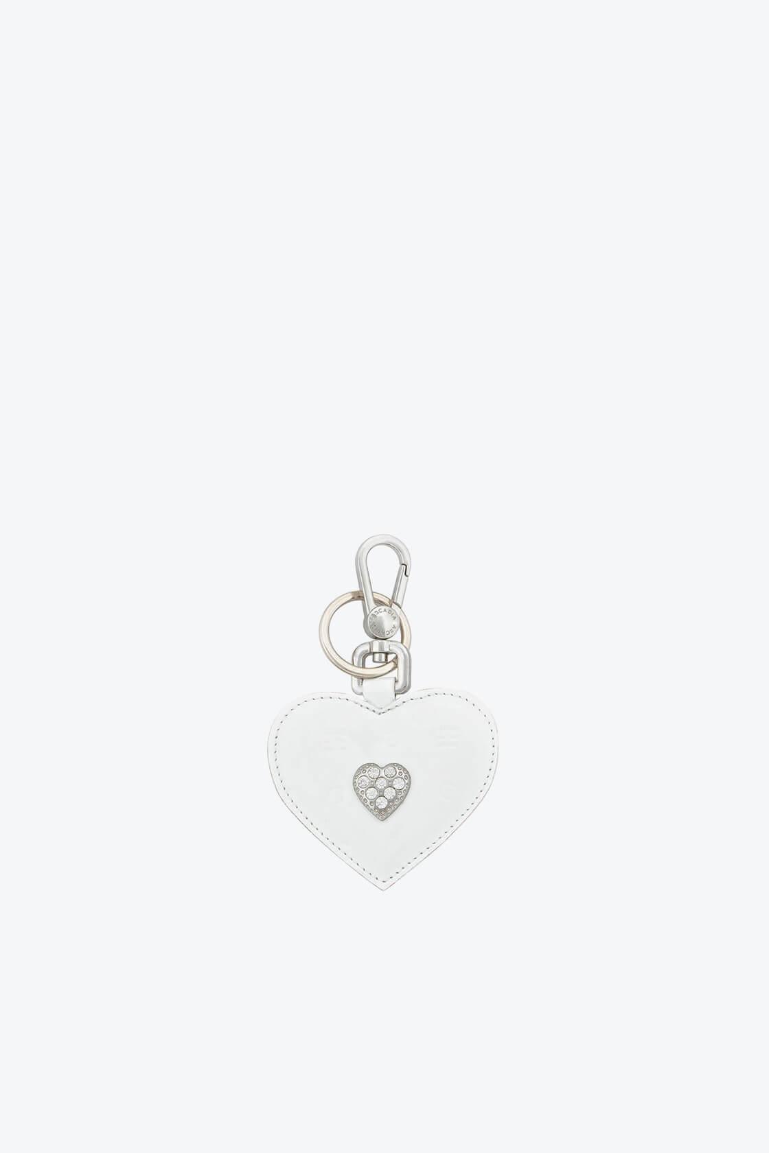 ol80000339 keyring heart swarovski stones 1
