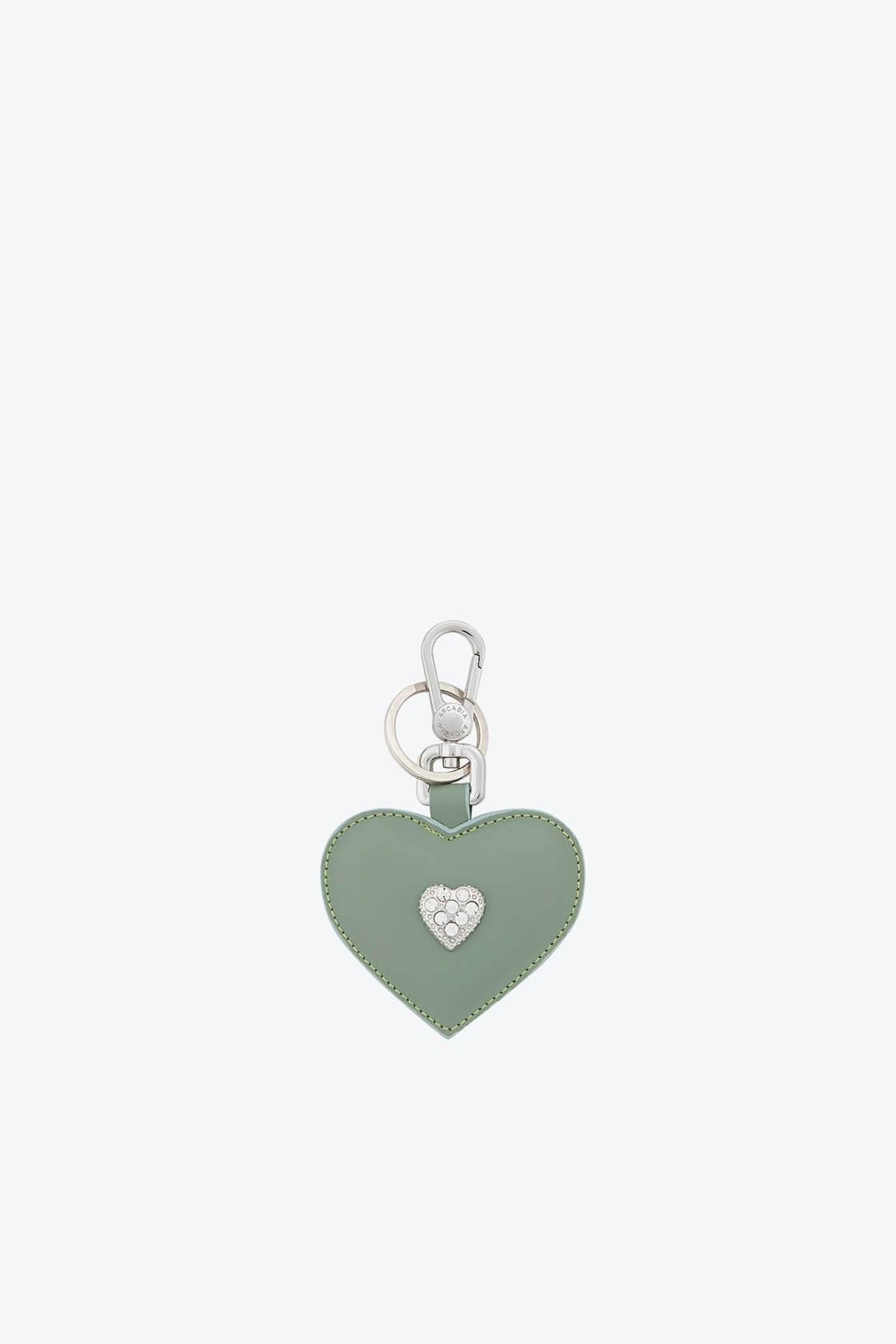 ol80000342 keyring heart swarovski stones 1