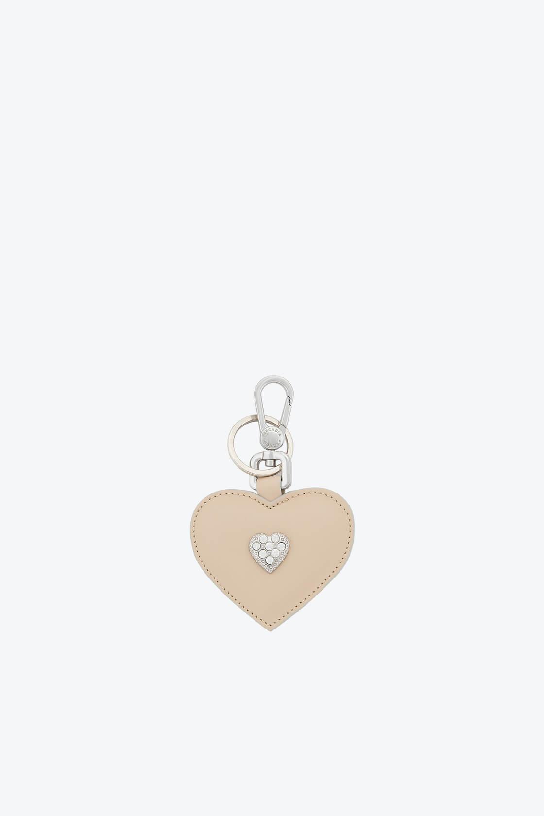 ol80000345 keyring heart swarovski stones 1