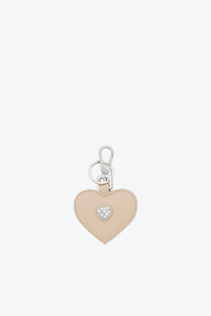 ol80000345 keyring heart swarovski stones 1b