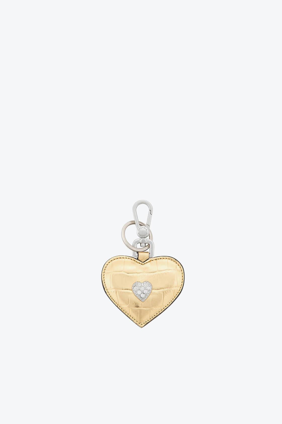 ol80000347 keyring heart swarovski stones 1