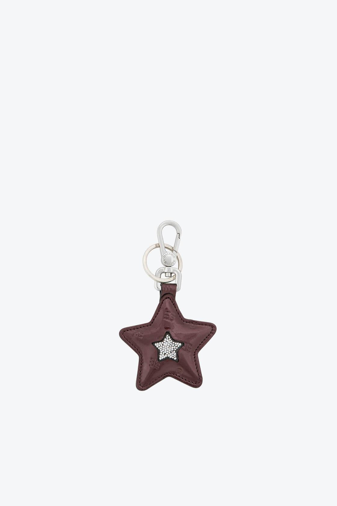 ol80000357 keyring star swarovski stones 1