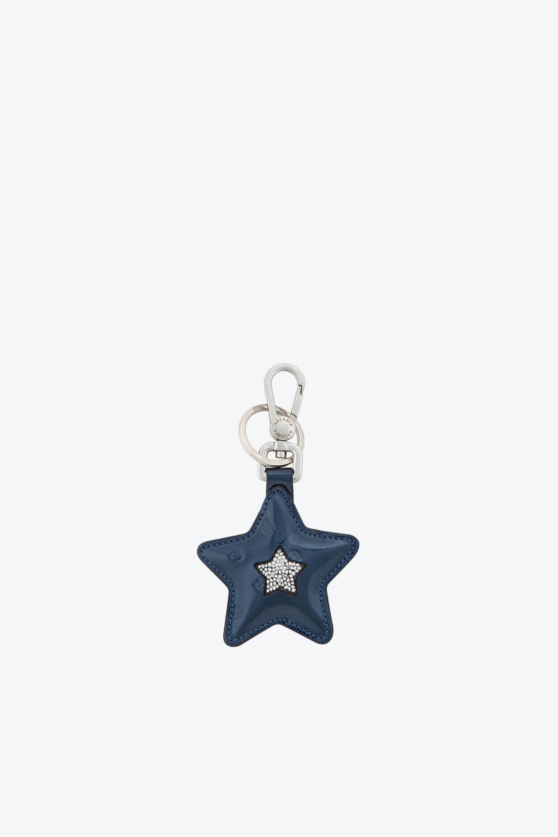 ol80000361 keyring star swarovski stones 1