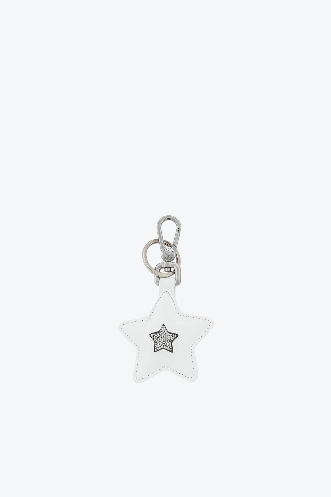 ol80000363 keyring star swarovski stones 1