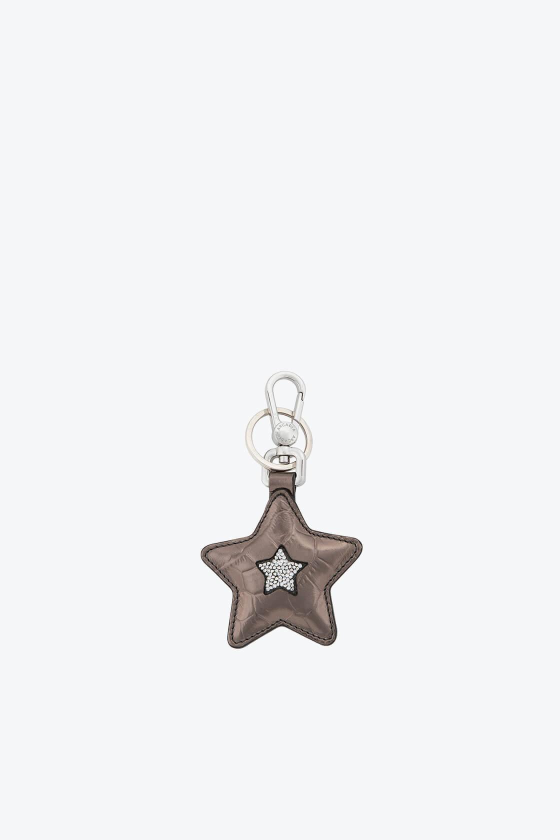 ol80000367 keyring star swarovski stones 1