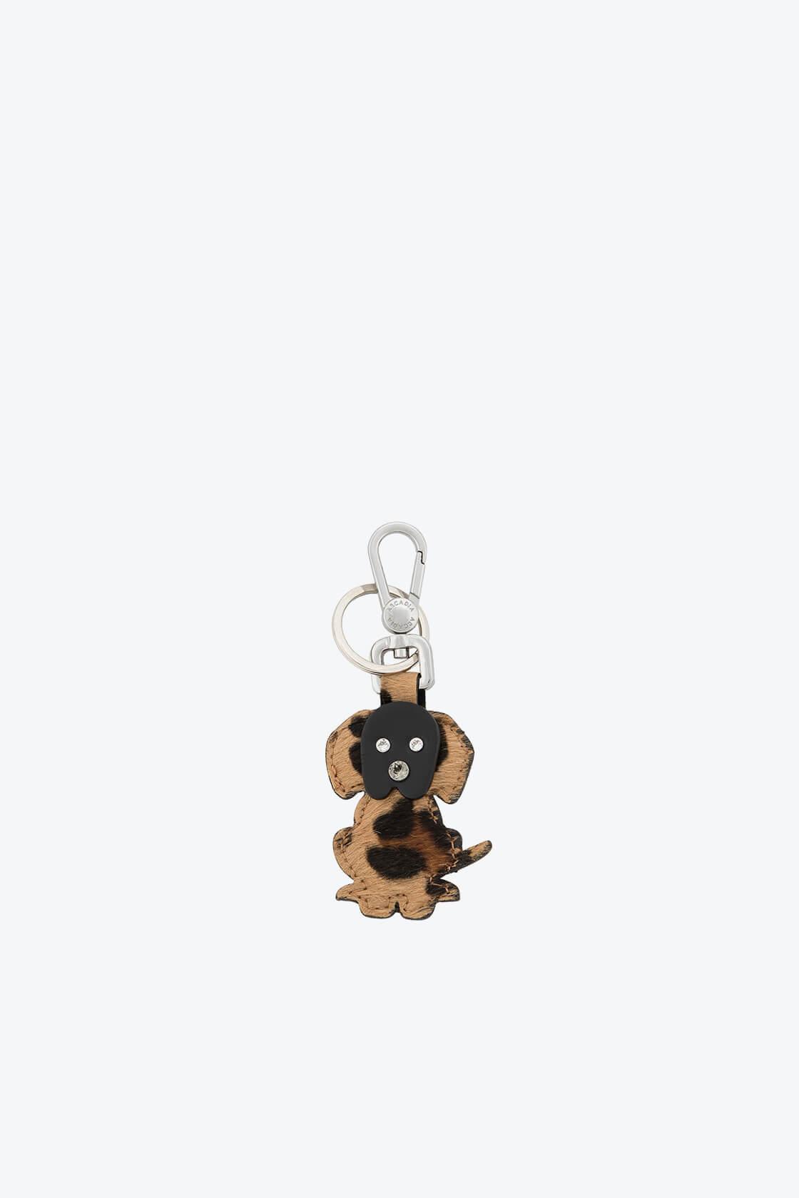 ol80000376 keyring puppy swarovski stones 1