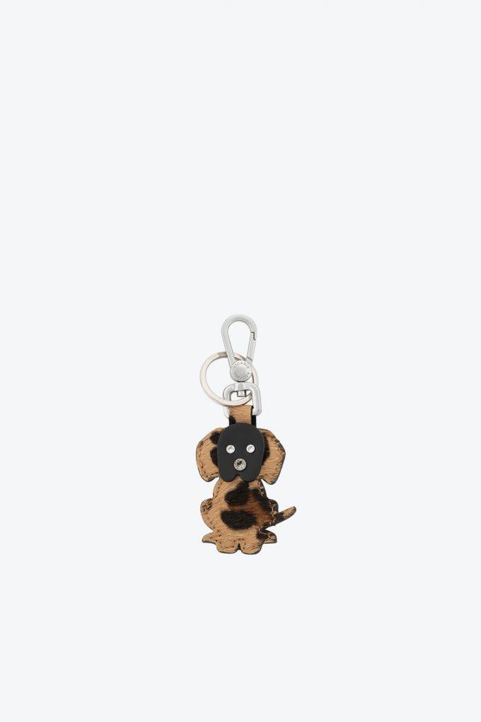 ol80000376 keyring puppy swarovski stones 1b