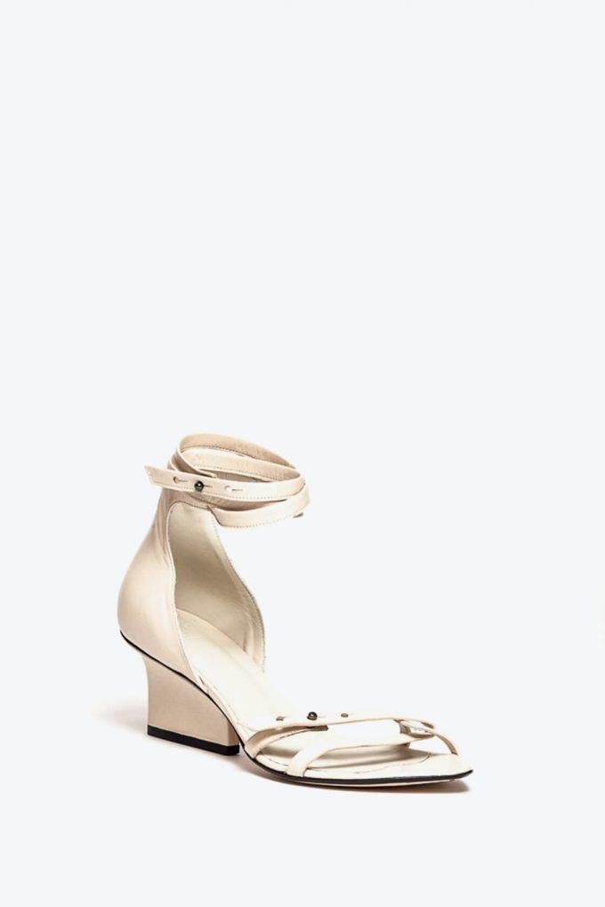 EJK0000009 Sid strappy sandals cream 2