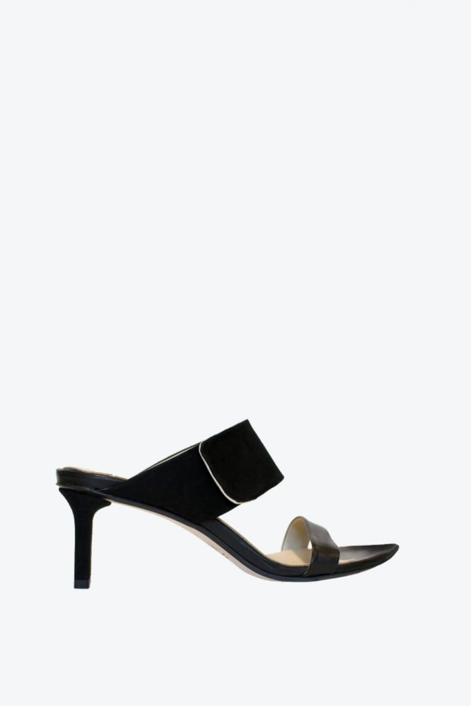 EJK0000010 Lucille strap sandals black 1B