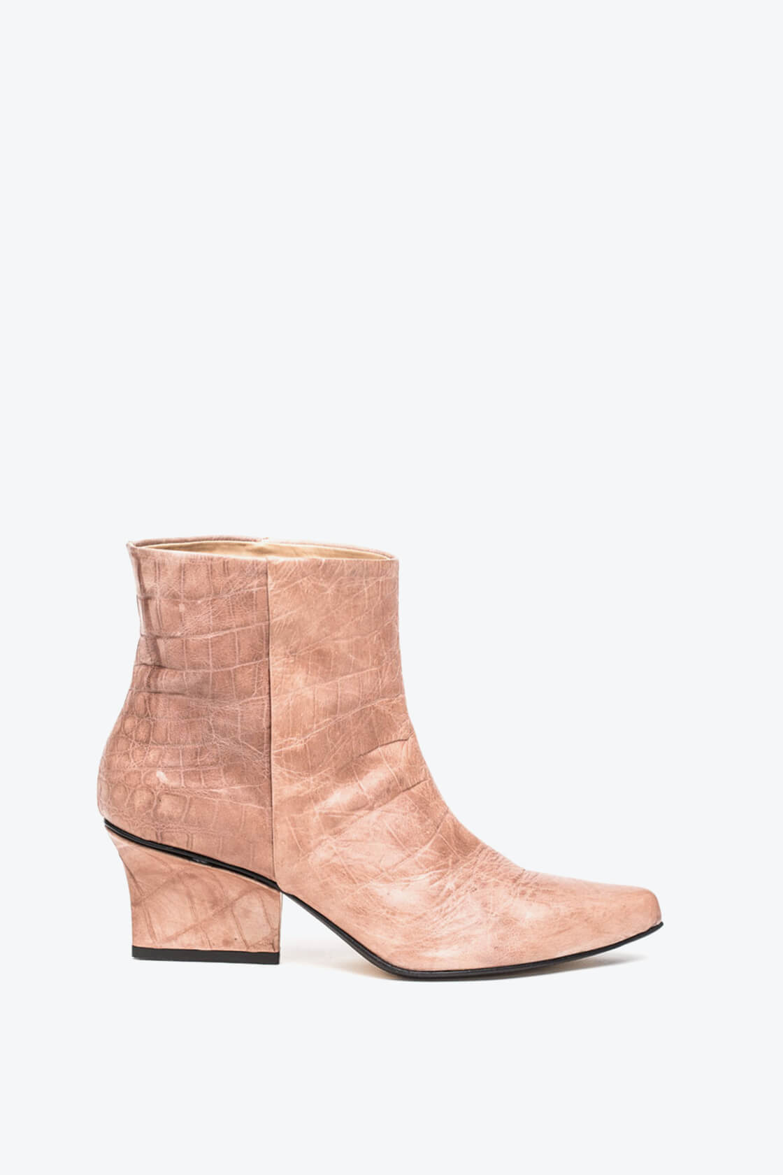 EJK0000014 Denis ankle boots nude croco 1