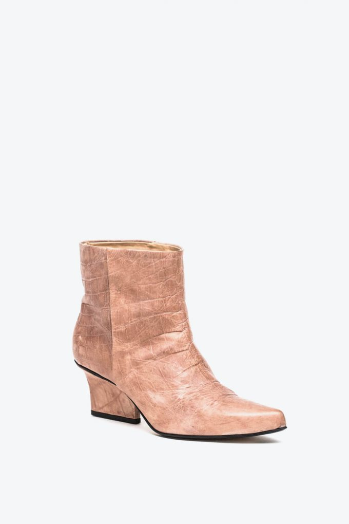 EJK0000014 Denis ankle boots nude croco 3