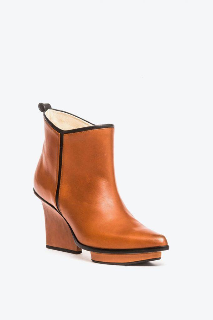 EJK0000019 Glenn ankle boots dark camel 3