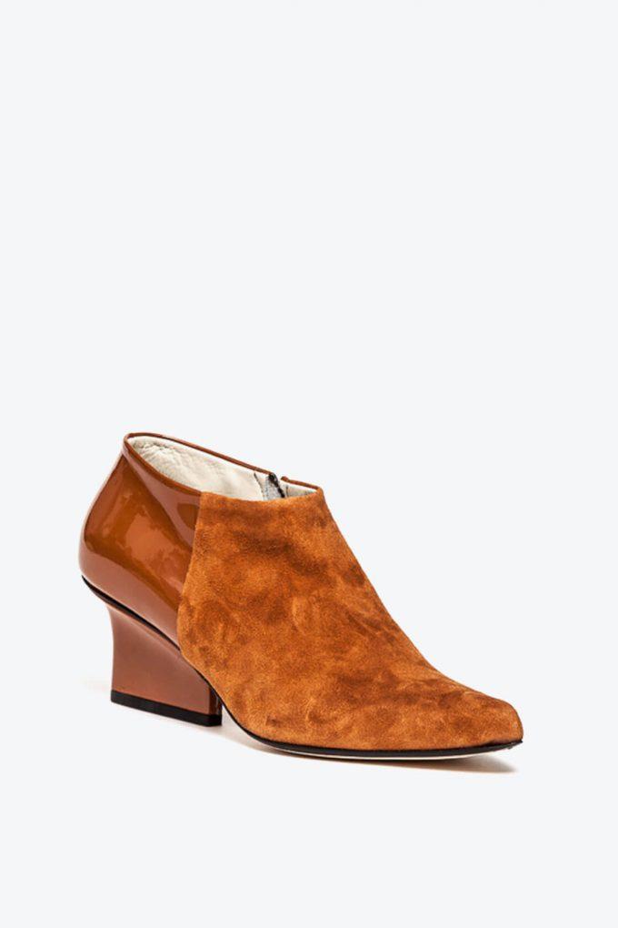 EJK0000026 Chris ankle boots caramel 2
