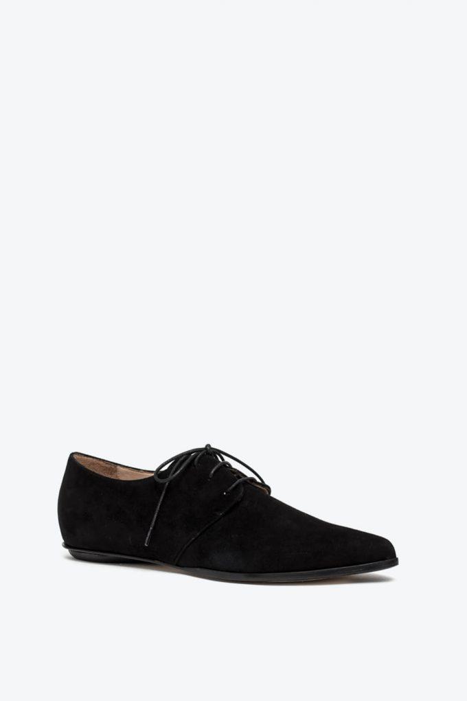 EJK0000033 Renee derby shoes black nabuk 3