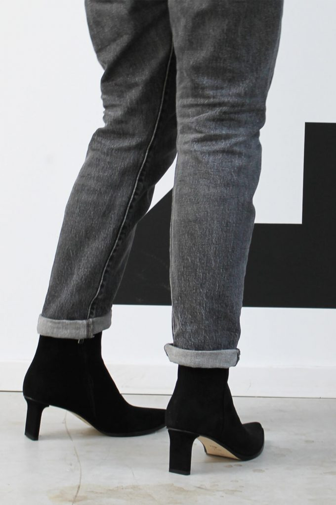 EJK0000047 Randy ankle boots black suede 6