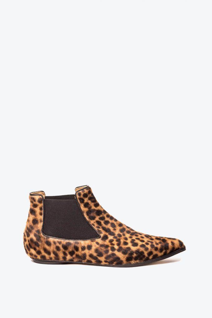 EJK0000049 Niki chelsea boots Leopard print 1B