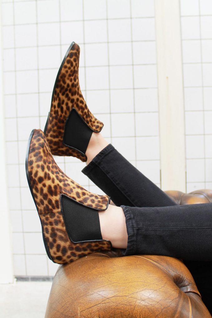 EJK0000049 Niki chelsea boots Leopard print 6