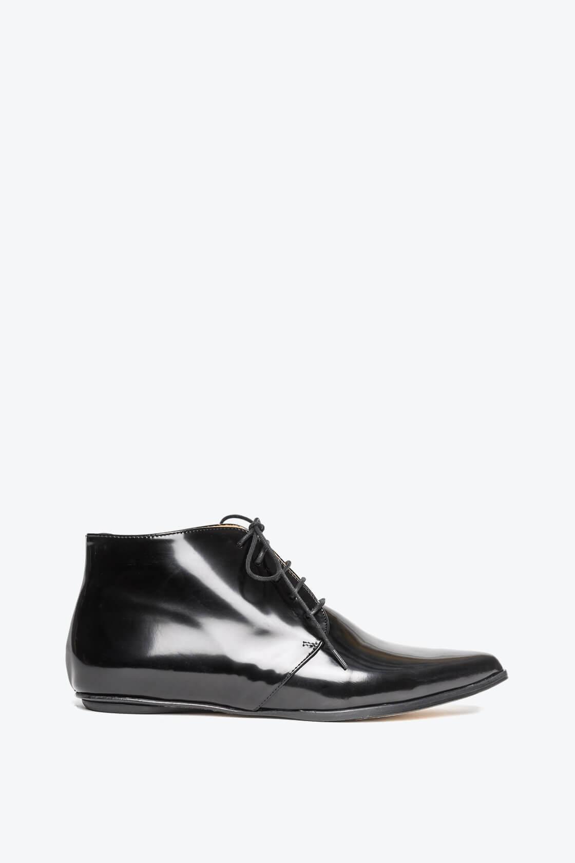 EJK0000050 Merle flat derby shoes black 1