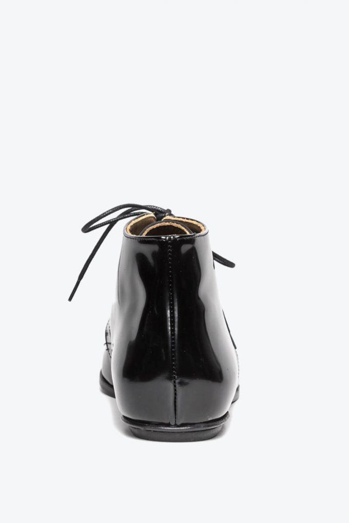 EJK0000050 Merle flat derby shoes black 2