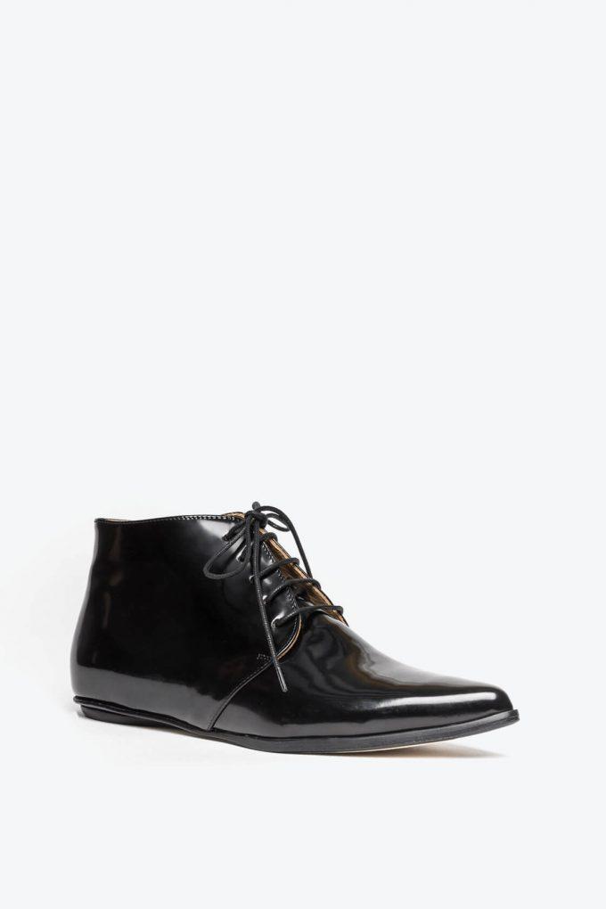 EJK0000050 Merle flat derby shoes black 3